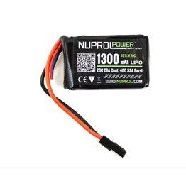 WE NP POWER 1300MAH 11.1V 20C PEQ MICRO LIPO