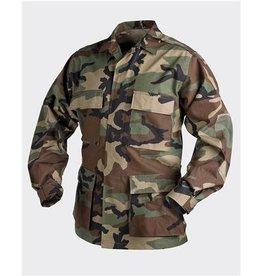 Helikon-Tex BDU Shirt - US Woodland - PolyCotton Ripstop