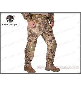 Emerson G3 Combat Pants Highlander met kneepads