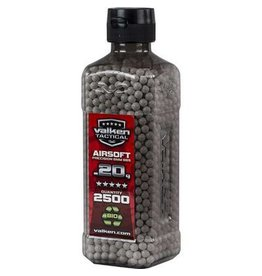 Valken Tactical 0.20G Bio 2500ct Bottle white
