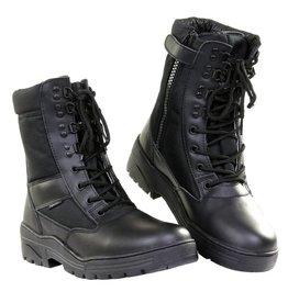 101 inc Pr. sniper boots WITH YKK ZIPPER Zwart of Khaki