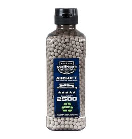Valken Tactical 0,25G Bio 2500ct Bottle white
