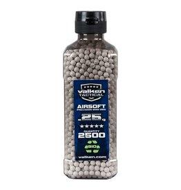Valken Tactical 0,25G Bio 2500ct Bottle white