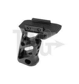 Metal CNC Picatinny Long Angled Grip Black