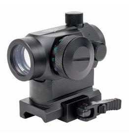 Valken Optics - V Tactical Red Dot 1x22 R/G/B Dual w/Weaver QR
