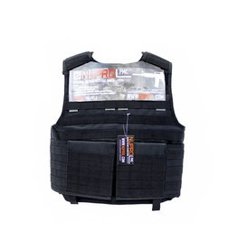 we NP PMC Plate Carrier - Black