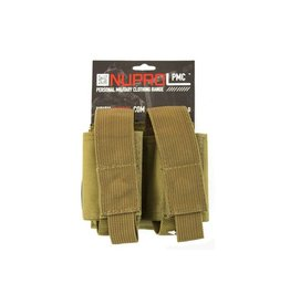we Nuprol PMC Double 40mm Pouch - Tan