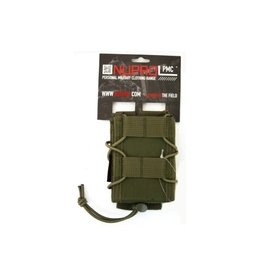 we NuProl PMC Rifle Open Top Pouch - Green