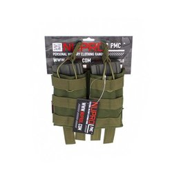 we NuProl PMC AK Double Open Mag Pouch - NP Camo