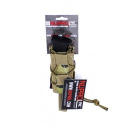 we NUPROL PMC Pistol Open Top Pouch  NP Camo Multicam