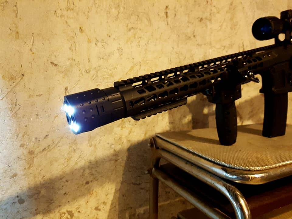 Laserled XG-110n black RED LASER
