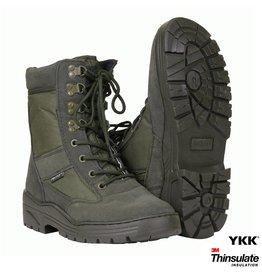 101 inc Pr. sniper boots WITH YKK ZIPPER Groen