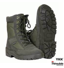 101 inc Pr. sniper boots WITH YKK ZIPPER Zwart of Khaki - Copy