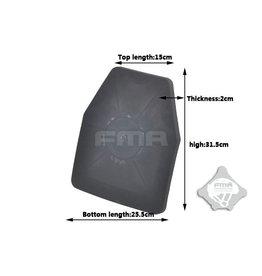 FMA FMA SAPI Dummy Ballistic Plate BK TB965-BK