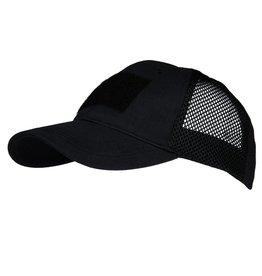 Baseball cap Mesh tactical Black