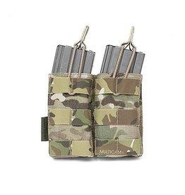 Warrior Assault Systeem Dubbel M4 Molle Open M4 5.56mm Mag Pouch multicam w-eo-dmop-mc