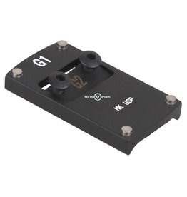 Vector Optics Sphinx Red Dot Pistol Mount Base for H&K USP