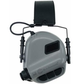 OPSMEN Earmor M32-MOD1 Grey Professional Electronic Earmuff TAN Grey
