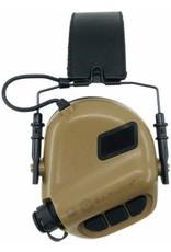 OPSMEN Earmor M32-MOD1 Brown Professional Electronic Earmuff TAN M32-MOD1 Brown