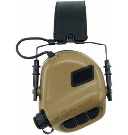 OPSMEN Earmor M32-MOD1 Brown Professional Electronic Earmuff TAN M32-MOD1 Brown
