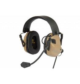 OPSMEN Earmor M32-MOD1 TN Professional Electronic Earmuff TAN M32-MOD1 TN