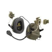 OPSMEN Earmor M32H- Mod1 -Folage GreenTactical Hearing Protection Helmet Version