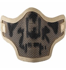 Valken TACTICAL TAN SKULL 2G WIRE MESH TACTICAL MASK