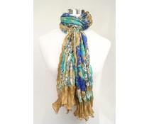 amoRcollections Zijde sjaal met moderne print