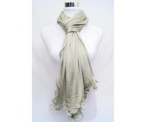 amoRcollections Heerlijk zachte sjaal met golvende rand
