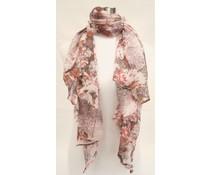 Passigatti Penceel bloem design sjaal