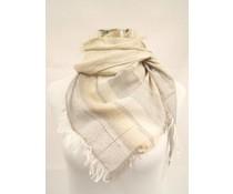 Passigatti Trendy heren sjaal met franjes