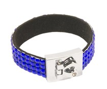 Fashion armband blauw
