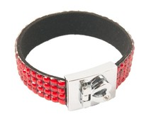 Fashion armband rood