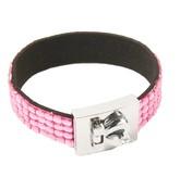 Fashion armband roze