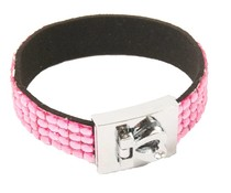 Fashion armband roze