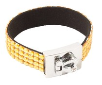 Fashion armband goud/geel