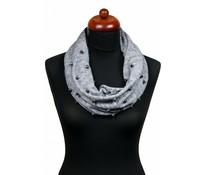 Stoere col sjaal met studs