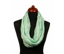 Zomerse col sjaal groen