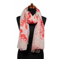 Sjaal met rode sterren