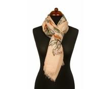 Sjaal met dromenvanger print