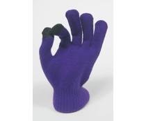 Touchscreen handschoen paars