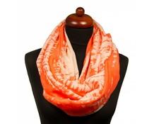 Oranje sjaal lang