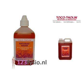 Toco Tholin Natumas WARM Massage 5 Liter