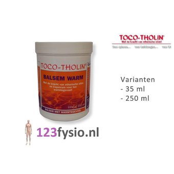 Toco Tholin Balsam Wärme 35 ml & 250 ml