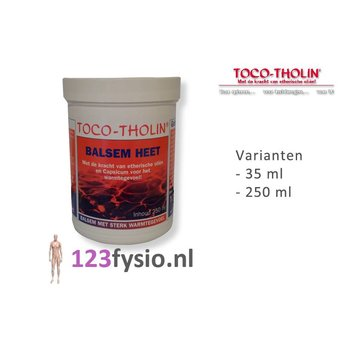 Toco Tholin Balm Hot 35 ml & 250 ml