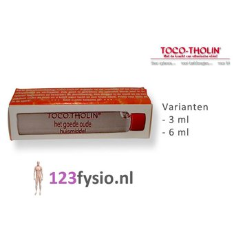 Toco Tholin Tropfen 3 ml & 6 ml
