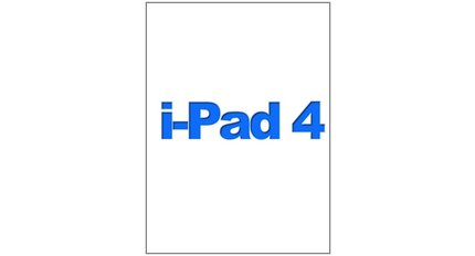 For IPad 4