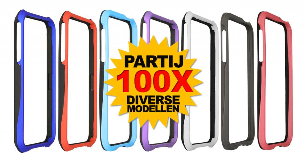 Bumper Deluxe 100X IPhone 5/5S