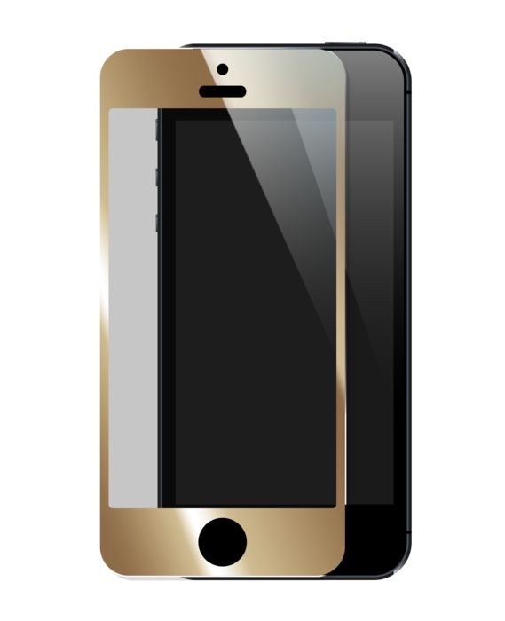 Colorful Tempered Glass I-Phone 4/4S