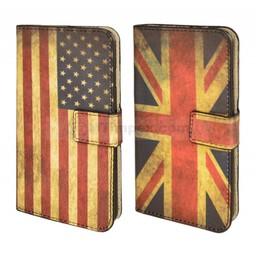 Vintage Flag Book Case IPhone 6
